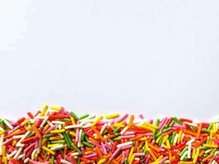 sprinkle: Colorful sprinkle background