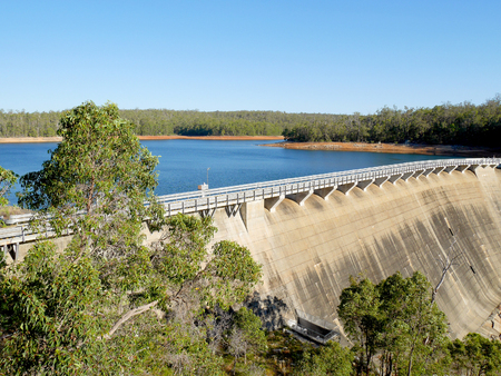 Wellington Dam Hydro Power Station in Western Australia