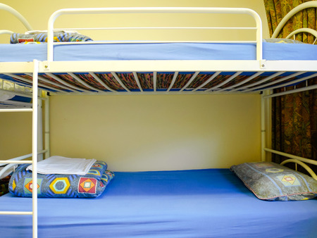 bunk: Bunk beds at the hostel
