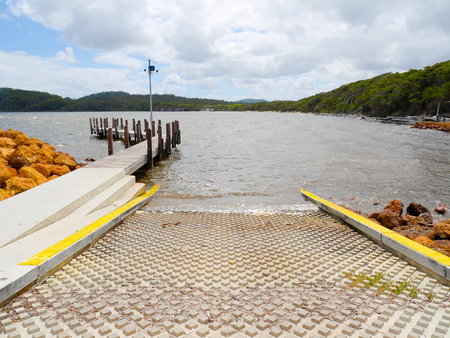 ramp: Boat ramp and jetty in Walpole, Australia