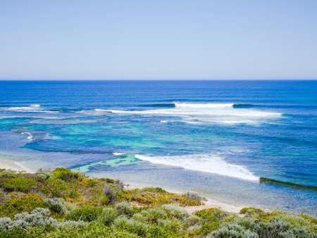 western australia: View of Surfers Point, Margaret River, Western Australia