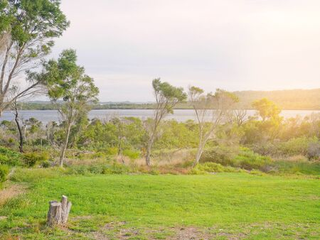 inlet: View of Walpole inlet in Western Australia