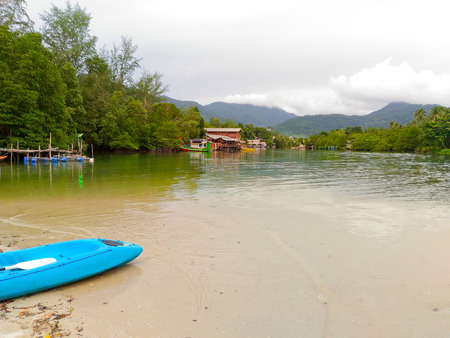 View of nature in Koh Chang Island, Thailand Stock Photo