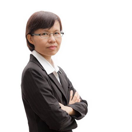 chinese woman: Portrait of Asian businesswoman