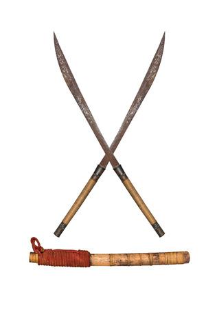 sabel: oude Thaise (sabel). Stockfoto
