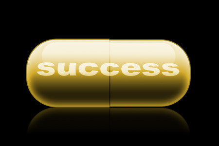 reliever: capsule. design concept  Pills with success