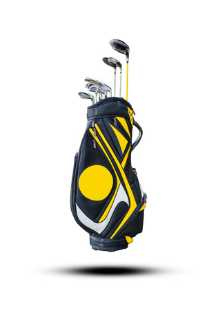 golf bag: Golf clubs and Bag
