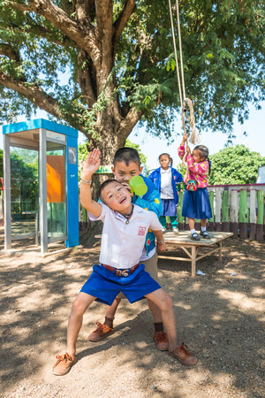 Amphoe Li Lamphon, THAILAND - January  2015: Activities, learning and teaching for  students In rural thailand , January  27, 2015.