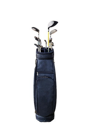 Golf clubs and Bag. photo