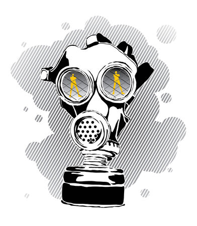 Gas mask Vector