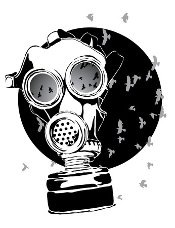 gas mask: Gas mask Illustration