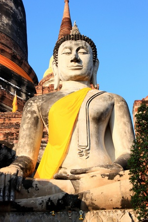ayuttaya: Buddha statue in Ayuttaya, Thailand