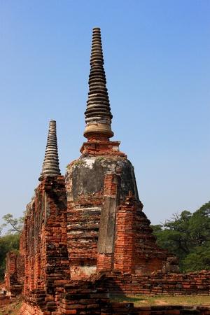 respecting: Thai pagoda Ayuttthaya