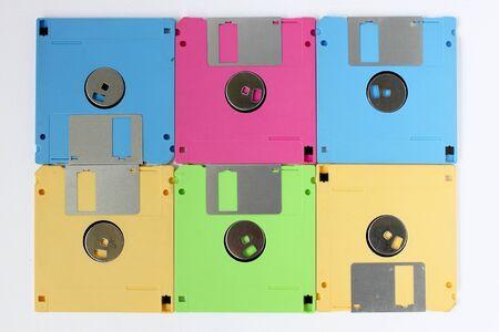 floppy disk: Floppy disk pattern