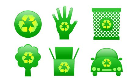 Recycle icon Stock Vector - 14124756