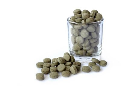 medicate: Herb medicine Stock Photo