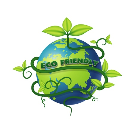 ECO friendly vector Vector
