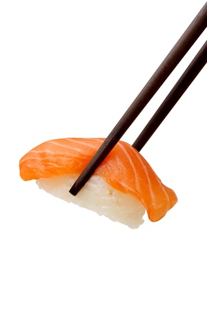 Sushi salmon Stock Photo - 14197366