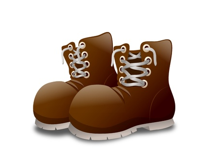 walking shoes: Boots