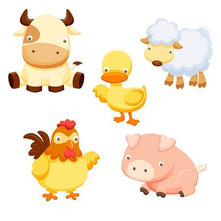 animal cock: Farm Animals