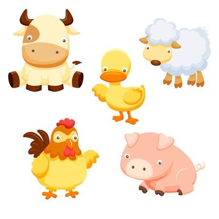 animal cock: Farm Animals