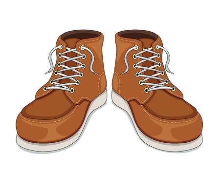 Boots vector Stock Vector - 14536900