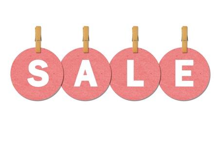 Sale label photo