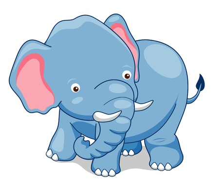 Cute Elephant  Stock Vector - 14643197