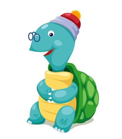 Cute turtle vector Stock Vector - 14677095