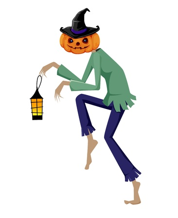Halloween pumpkin Stock Vector - 14763051