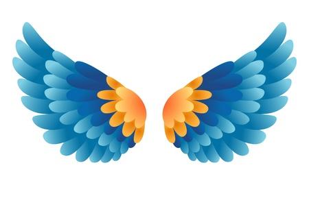 heavenly angels:  wings
