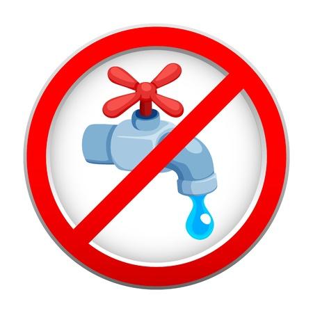 contaminacion del agua: Guardar signo de agua