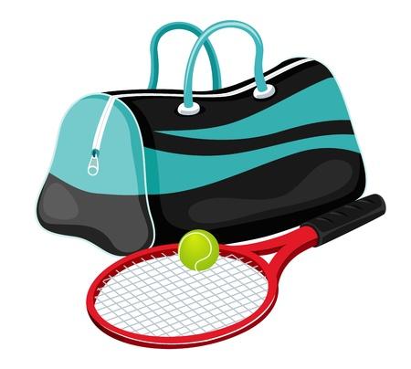 Tennis equipment Stock Vector - 14812650