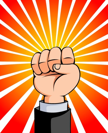 Fist vector illustration Vector