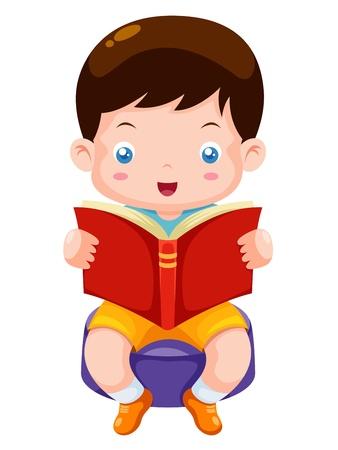 Livre de lecture Boy