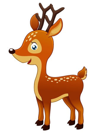 Cute Deer Stock Vector - 15247774