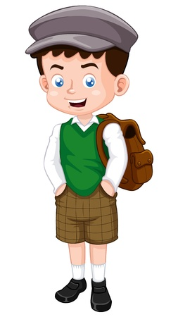 classmate: illustration of little boy