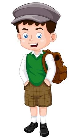 ilustración del niño pequeño