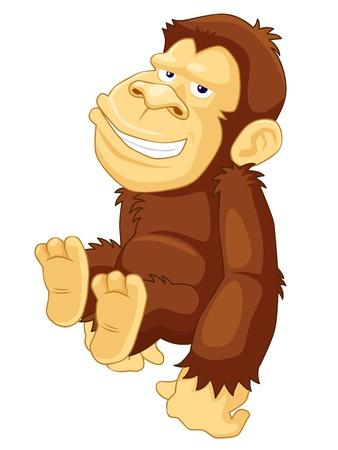 jungle jumping: Illustration of Monkeys