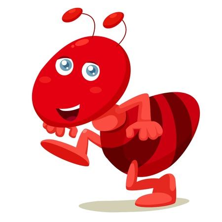 hormiga caricatura: ilustración de la historieta hormiga