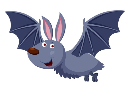 illustration of Cartoon bat  Stock Vector - 16209317
