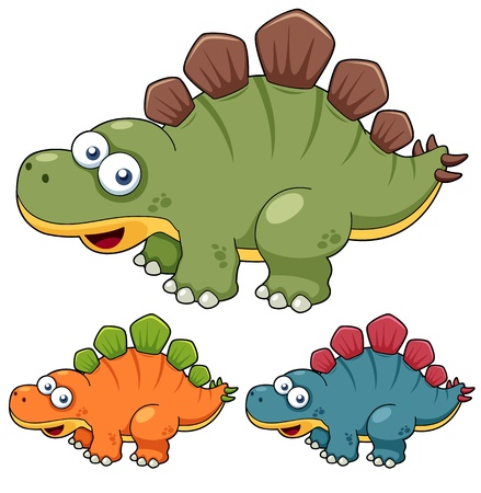 illustration of Cartoon dinosaur Stock Vector - 16499610