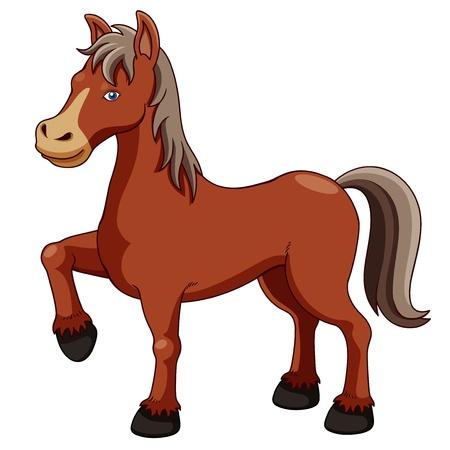 Ilustración de un caballo
