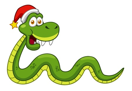 illustration of Cartoon snake Stock Vector - 16992087