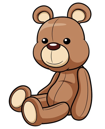 bear cub: illustration of Teddy bear