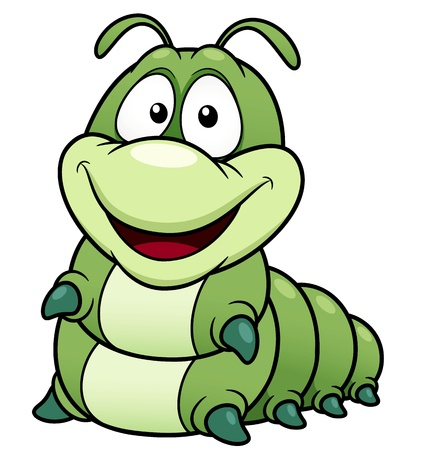 caterpillar worm: illustration of Cartoon worm Illustration