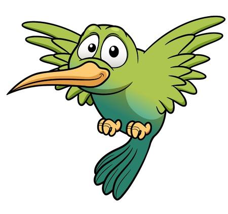 hummingbird: illustration of Cartoon Hummingbird