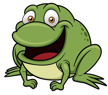 frog illustration: Vector illustration of frog cartoon