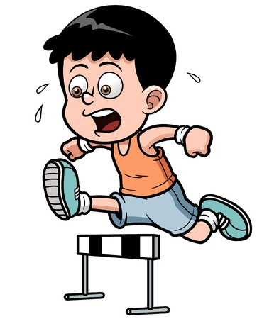 runing: ilustraci�n del vallista Boy