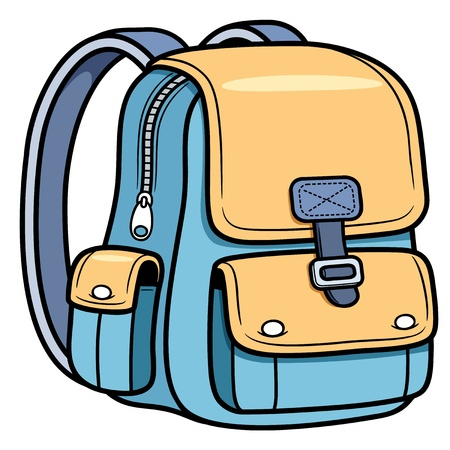 Vector illustration of school bag - Back to school Stock Vector - 19717264